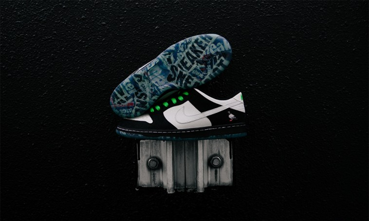 """huge discount 68133 4d192 Jeff Staple x Nike SB have joined forces to release a third Pigeon Dunk,  this time a black and white """"Panda Pigeon"""" colorway."""