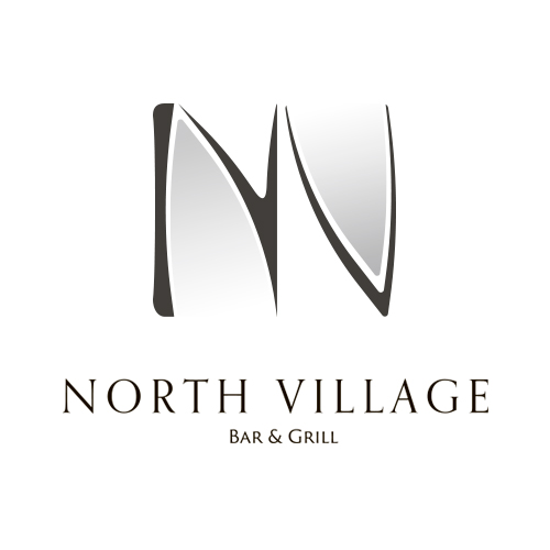 North Village Bar & Grill ロゴデザイン