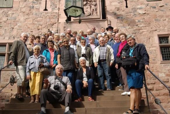 Au château du Haut Koenigsberg