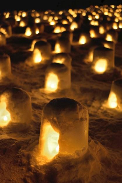 Festival des lanternes Yokote