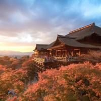 Kyoto, la légende du temple Kiyomizu dera..