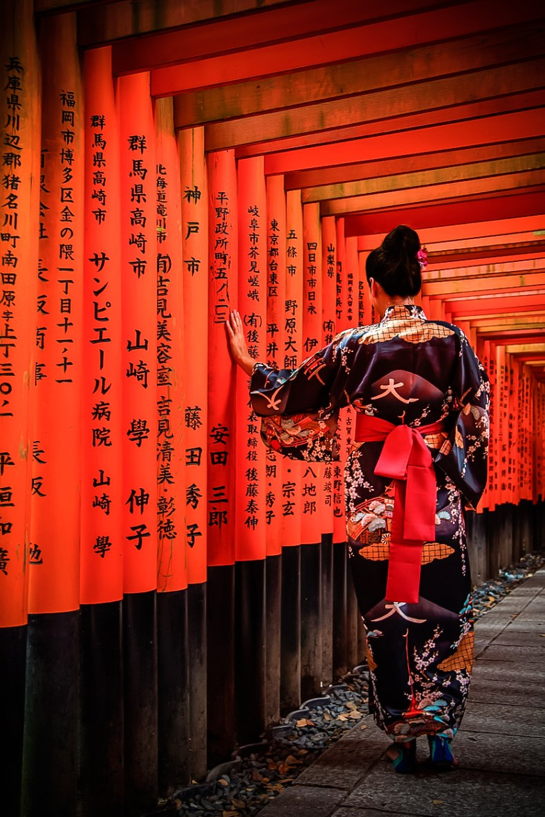 Kyoto,Fushimi inari ( Copyright Soleil Levant 75 )
