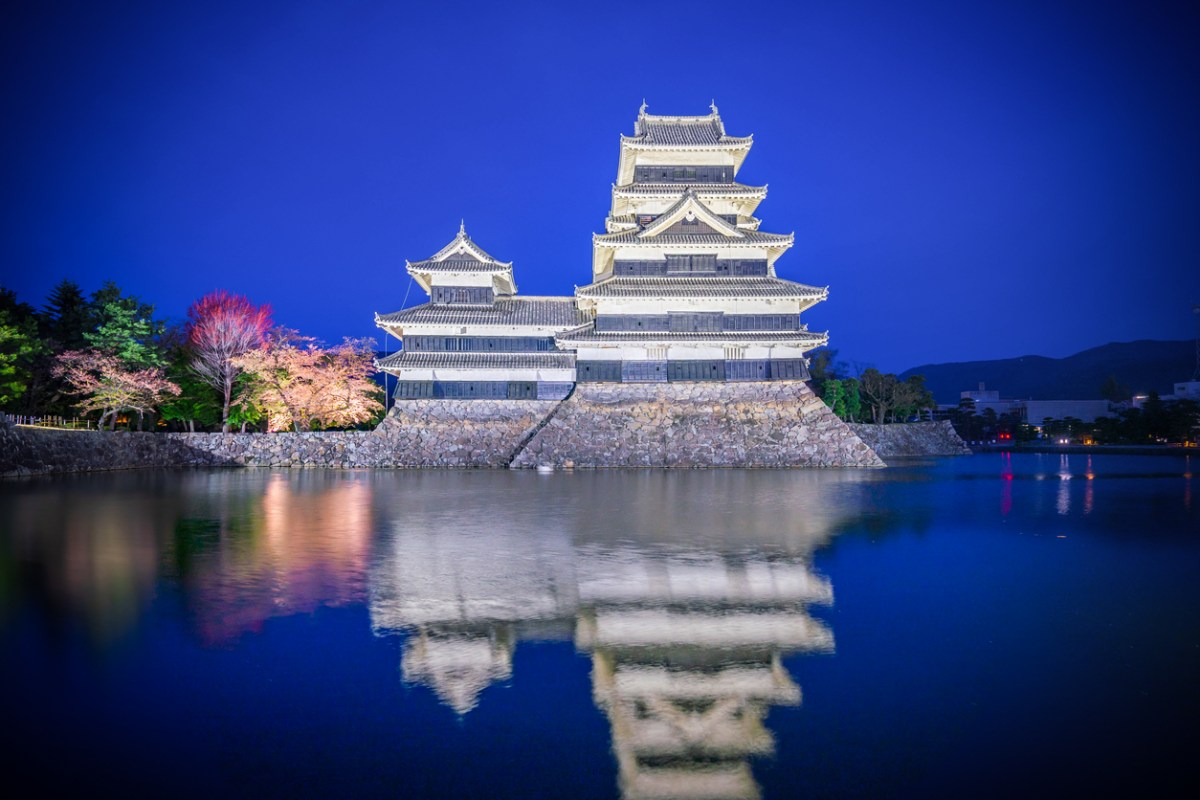 Matsumoto et son magnifique chateau..
