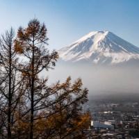 Yamanashi, Fujiyoshida, au pied de Fuji san..