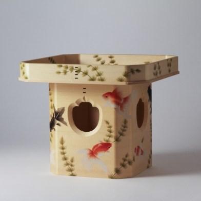 Iwata Sanbou - table cyprès - DENSAN