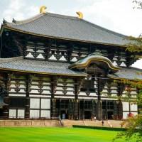 Nara, le temple Todai-ji..