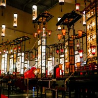 Wajima, Kiriko hall, les chars illuminés..