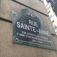 Découvrez la rue Sainte Anne, le quartier japonais à Paris.