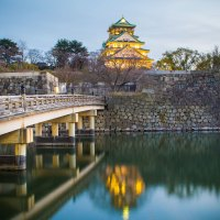 Le chateau de Osaka.