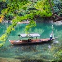 Kyoto Arashiyama, la rivière Ozu.