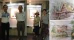 ソレイユメンバの絵画展