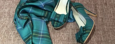 Design your own tartan shoes