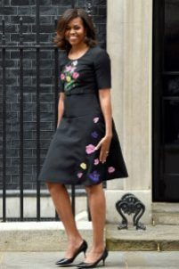 Kitten Heels Style Inspiration, Michelle Obama