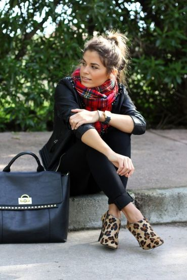 Leopard print boots are perfect for Stylist Live