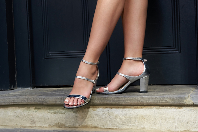 Summer shoes for pedicure