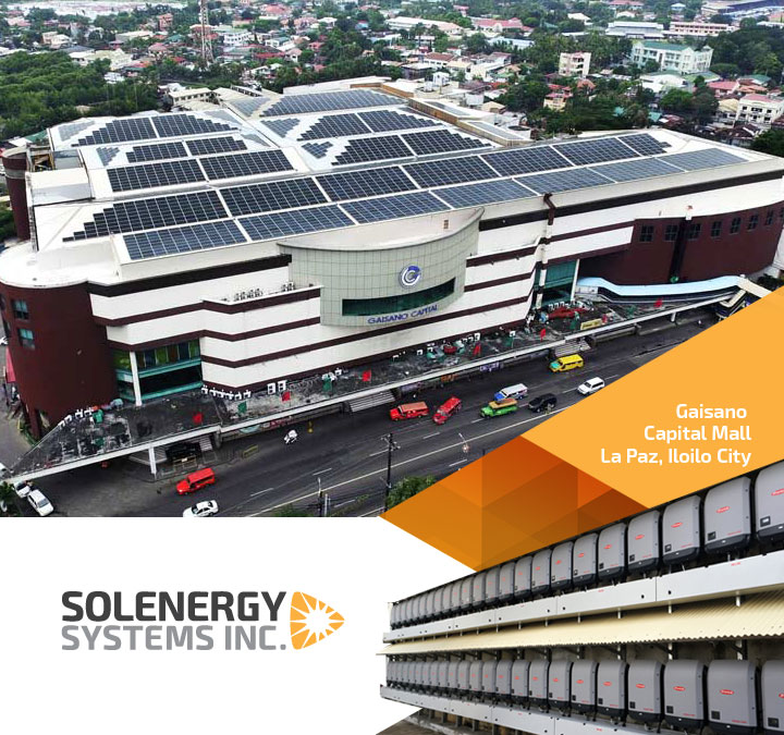 Gaisano Mall Solar Panels