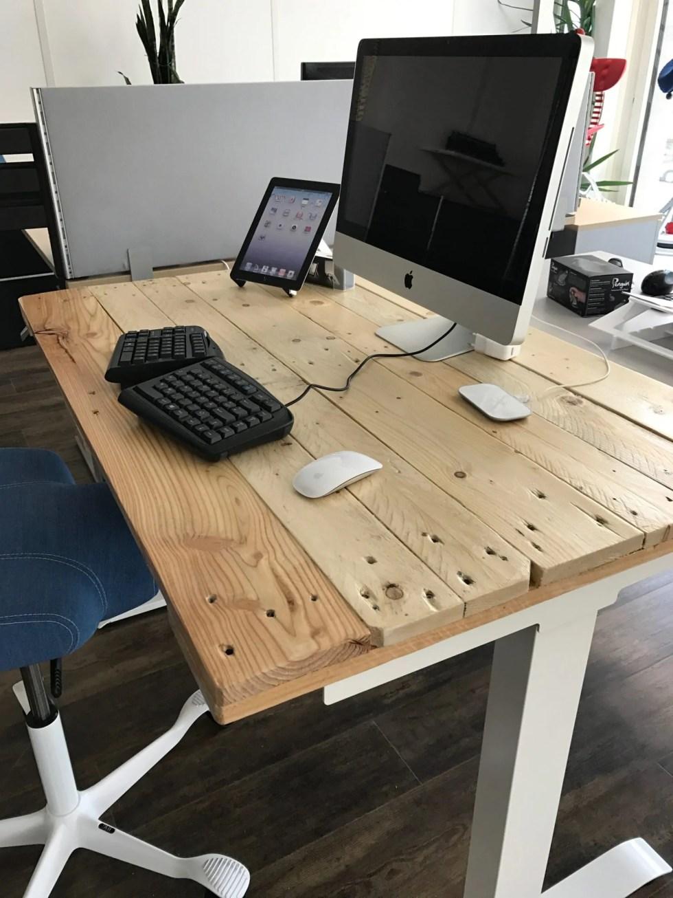 elektrischer Tisch selber umbauen