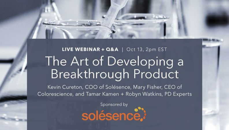 The Art of Developing a Breakthrough Product, webinar sign-up