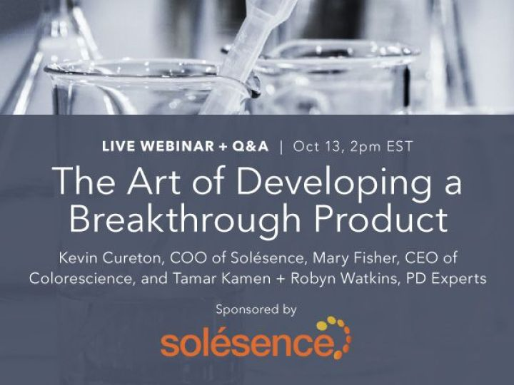 Webinar Recording - The Art of Developing a Breakthrough Product