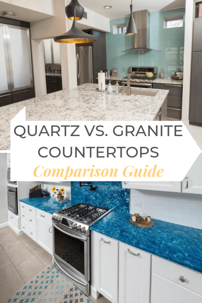 "Ever wonder why people feel so strongly about quartz versus granite countertops? In this comparison guide, you'll get to hear both sides of the ""story"" and come to your own conclusion about what countertop is the best fit for your home design."