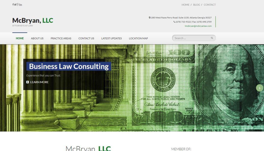 Solia Media - McBryan Law Website