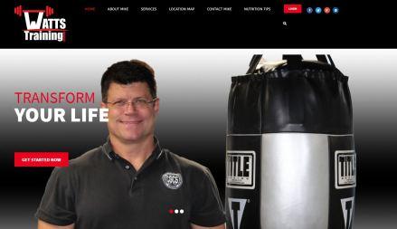 Watts Training - Website by Solia Media