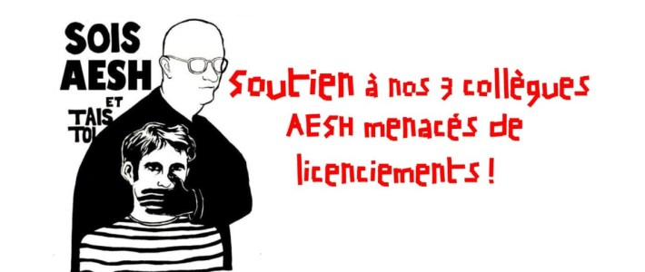 Éducation : Soutien à nos 3 collègues AESH menacés de licenciements, Grève et rassemblement à Grenoble ce 18 decembre !