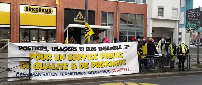 Défense des bureaux de Poste du Grésivaudan : la direction refuse de recevoir la délégation commune, lancement d'une pétition à Brignoud et rassemblement à Crolles le mercredi 13 janvier !