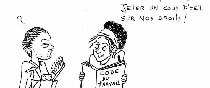 """""""Dans le nettoyage aussi on a des droits !"""" Permanence mensuelle du collectif nettoyage de Précaires Solidaires Isère"""