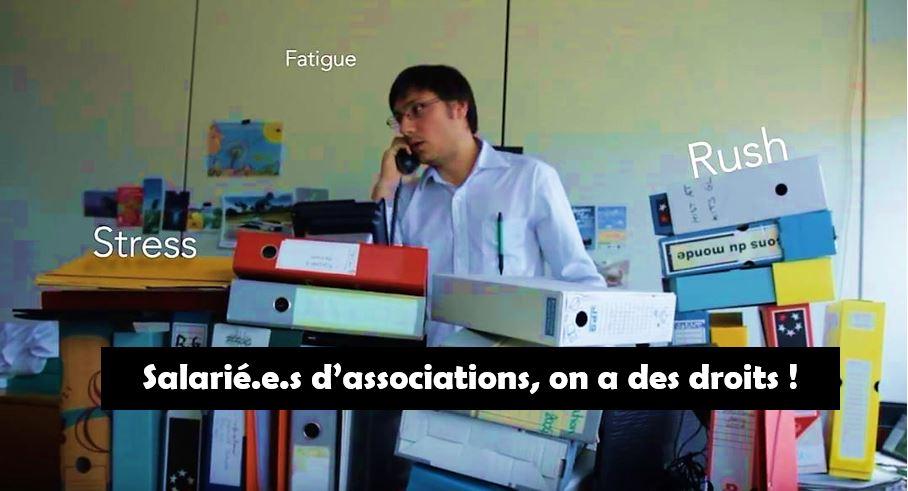 """Salarié.e.s des associations de l'Isère : """"On a des droits"""" !  Du 22 mars au 6 avril faisons les valoir en votant pour ASSO Solidaires !"""