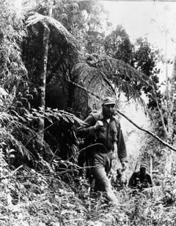 Fidel Castro en la Sierra Maestra. 1960