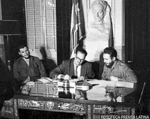 Nacionalizacion de las Bancos norteamericanos en Cuba.