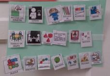 Este es uno de los cuadros de habilidades sociales, una de las actividades a la que acuden los niños para jugar entre ellos y desarrollar sus capacidades. PAULA PARCHA