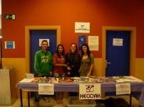 Educadores y voluntarios de Hegoak
