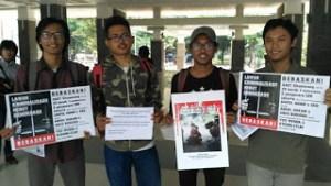 """LSS dan KPO-PRP Dirikan Stand """"Lawan Kriminalisasi, Rebut Demokrasi"""""""