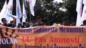 Tax Amnesty Tak Adil bagi Buruh