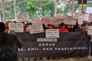 Dinilai Tidak Netral, Buruh Minta Pencopotan Mediator Disnaker Kabupaten Bekasi