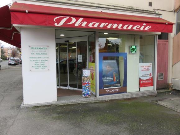 collecteur dans une pharmacie