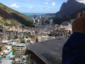 A view of Rio from the Rocinha favela.