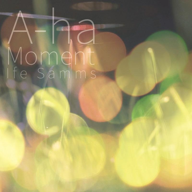 Ife Samms Album cover art for Aha Moment