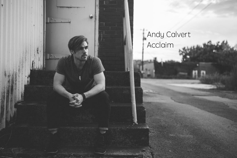 EP album cover for Andy Calver's Acclaim