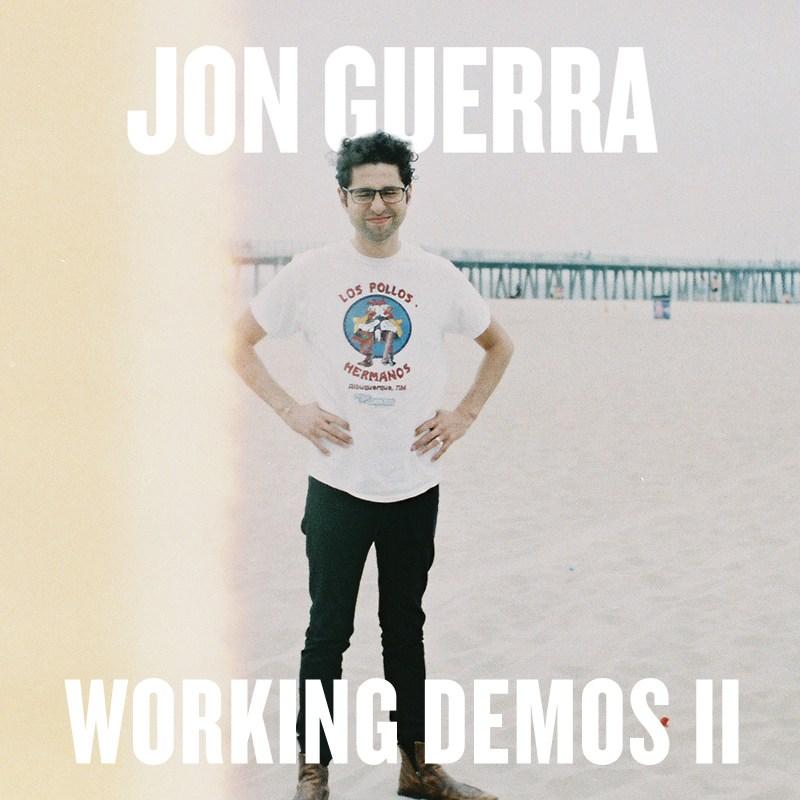 Album cover for Jon Guerra's Working Demos II