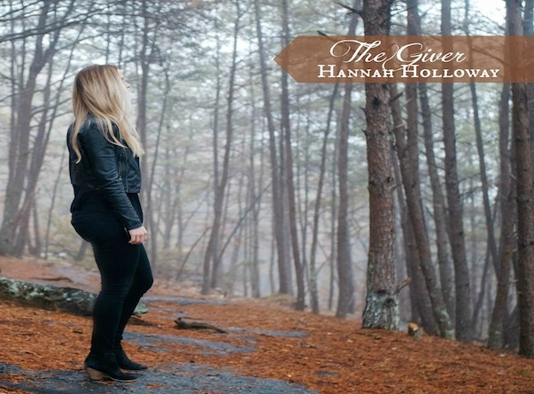 album cover image for Hannah Holloway the giver