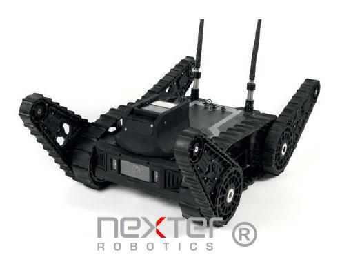 robot d'inspection de véhicule sécurité civile - défense