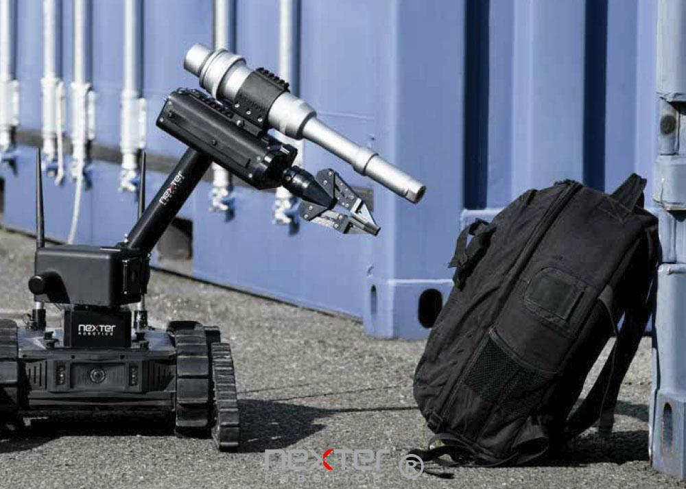 Robot léger contre les risques d'attentat
