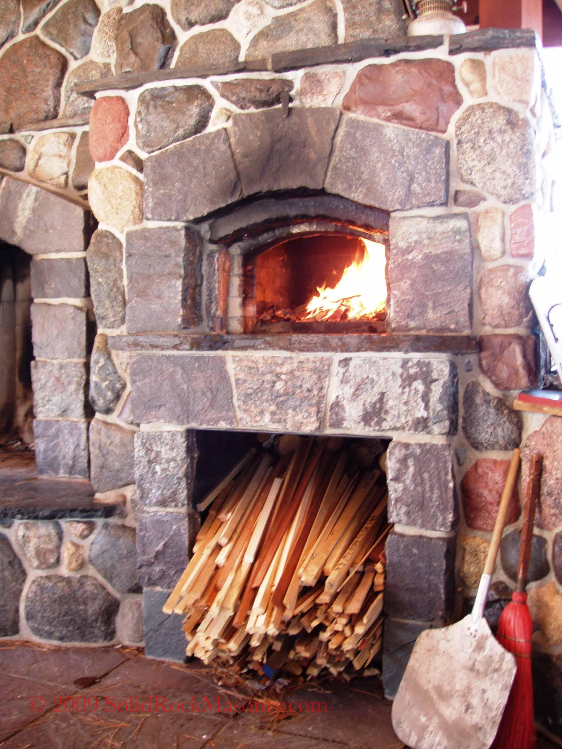 Utke Rumford Fireplace And Bakeoven Solid Rock Masonry