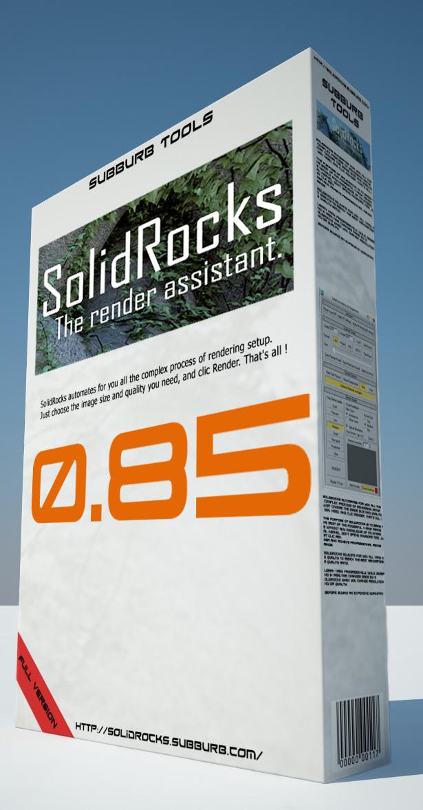 Solidrocks, la solucion al problema de las configuraciones Vray