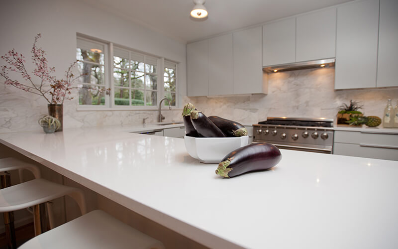 Kitchen Cabinet Counter Tops Types Solid Top Sdn Bhd