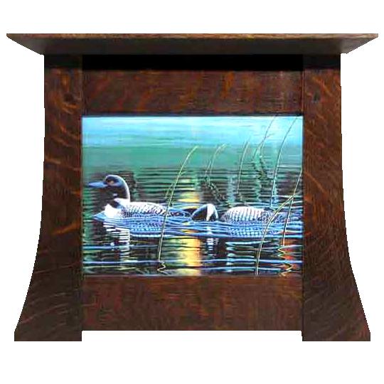 contoured craftsman style frame