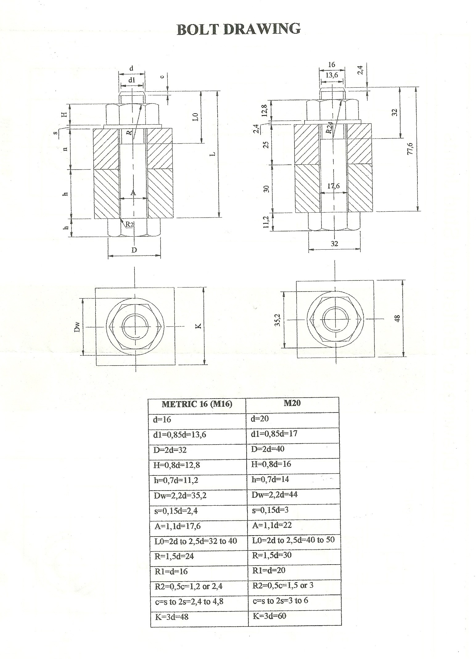 Engineering Drawing Teknik Cizim